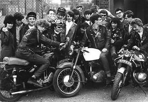 ... a different sort of 'cafe society' than you may be imagining, since it is about the English 60s motorcycling cultural phenomenon known as 'cafe racing'.