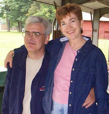 Jim Brenholts and wife